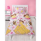 Disney Princess Belle Royal Single Duvet Cover Set