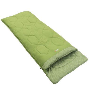 Vango Serenity Single Sleeping Bag 3 Season Green