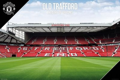 Manchester United FC Old Trafford 17-18 Poster 61 x 91.5cm