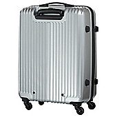 Carlton Tube Silver 55cm 4 Wheel Spinner Case