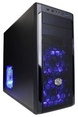 CyberPower Gaming Infantry Titanium, AMD FX 4300 (3.8GHZ), GTX 1050Ti, 8GB DDR3 RAM, 1TB HDD, Windows 10 Home, Gaming PC
