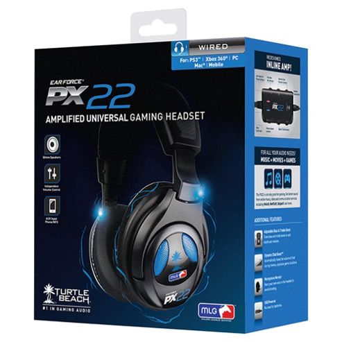 Turtle Beach PX22 Licensed MLG Headset - PS3 & Xbox 360