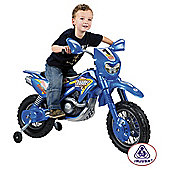 Injusa Cross Thunder VX Motorbike Battery Operated Ride-On with Helmet