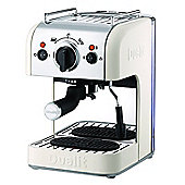 Dualit 84443 3-in-1 Coffee Machine, Canvas White