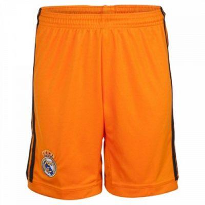 2013-14 Real Madrid Adidas 3rd Shorts (Orange)