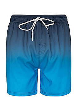 Mountain Warehouse Aruba Ombre Mens Swimshorts - Blue