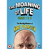 The Moaning of Life Box Set (Series 1 & 2) DVD 4disc