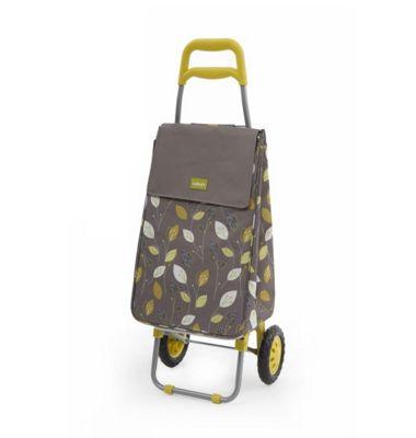 Sabichi 2 Wheel Shopping Trolley, Lemongrass