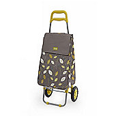 Sabichi 2 Wheel 40L Shopping Trolley, Lemongrass