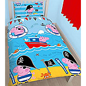 George Pig Single Rotary Bedding - Pirate