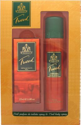 Taylor of London Tweed Gift Set 25ml PDT + 75ml Body Spray For Women