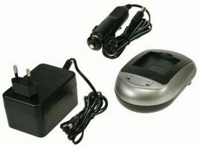 2-Power DBC9050A Auto/Indoor battery charger Black Silver