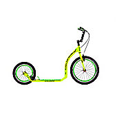 Crussis Active 4.1 20/16in Wheel Adults Kick Scooter Yellow