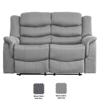 Sofa Collection Moselle Recliner Sofa - 2 Seat - Light Grey