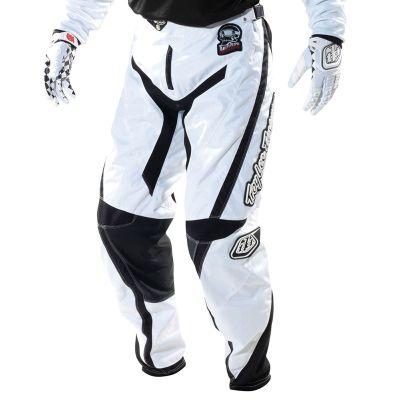 TroyLee GP Pant Adult Hotrod White Black 32