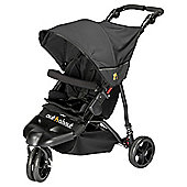 Out n About Little Nipper 3 Wheel Pushchair, Jet Black