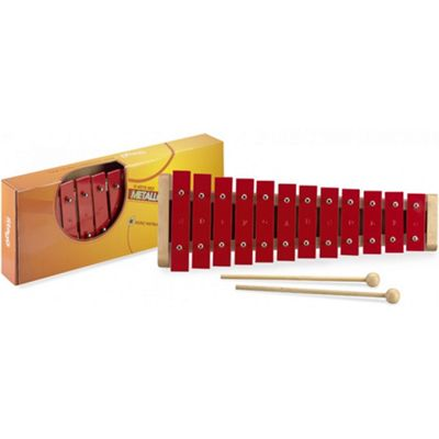 Stagg 12 Key Metallophone - Red