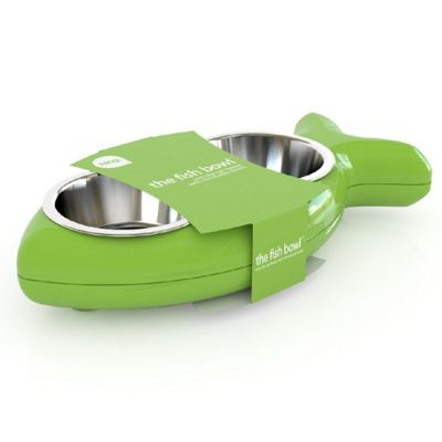 Hing Cat Bowl Fish - Green