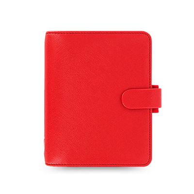 Filofax Pocket Saffiano Poppy Organiser