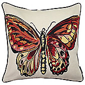 McAlister Printed Butterfly Cushion - Woven Jacquard