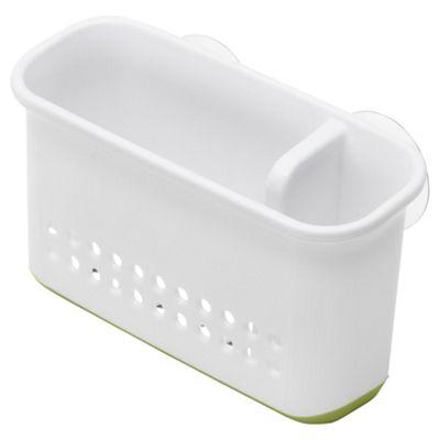 Addis Premium Sink Side Organiser, White / Green