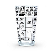 Fred Good Measure Hangover Cocktail Recipe Glass - 475 ml/16 Oz.