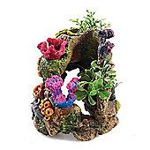 Classic Polyresin Coral Garden 13cm