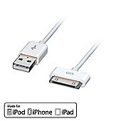 LINDY 31352 USB 2.0 to Apple Dock Cable. 2m