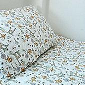Cot Duvet Cover Set 100% Cotton - Jungle Mayhem