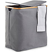 VonHaus 2 Compartment Laundry Basket