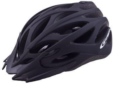 Ammaco MTB Road Bike Lightweight Helmet Black Rubber 54-58cm