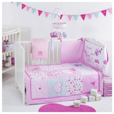 Red Kite Cosi Cot Bedding Set, Pretty Kitty
