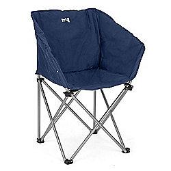 Trial Folding Tub Camping Chair Blue
