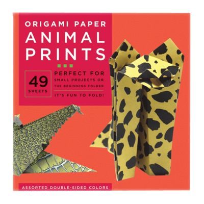 Origami Paper - Animal Prints - Large