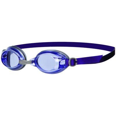 Speedo Jet Senior Adult UV Anti Fog Swimming Goggles - Purple/Grey