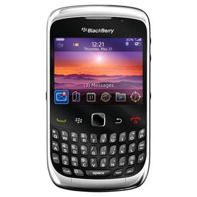 Unlocked BlackBerry® Curve™ 9300 Black -SIM Free