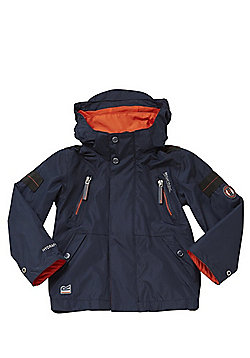 Regatta Saban Waterproof Hooded Jacket - Navy