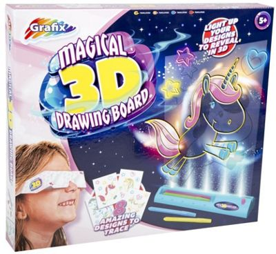 Magical 3D Drawing Board