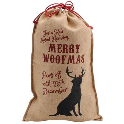 Dog Christmas Gift Sack
