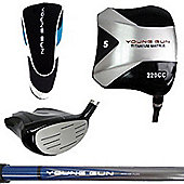 Young Gun Golf Clubs Kids Square Junior 5 Wood Right Hand Age 12-14