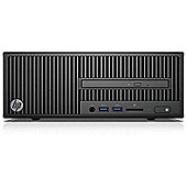 HP 280 G2 Small Form Factor Desktop Intel Core i3 500GB Windows 10 Pro Integrated Graphics