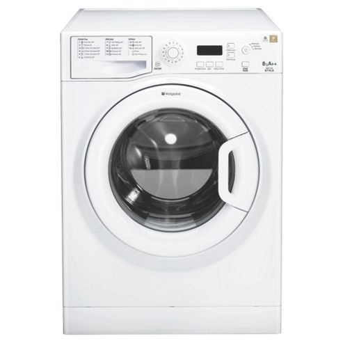 Hotpoint WMYF842P Washing Machine , 8Kg Load, 1400 RPM Spin, White
