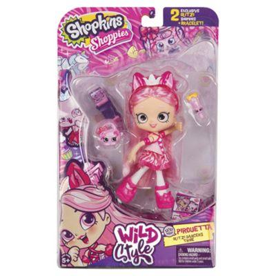 Shopkins Shoppies Wild Style Pirouetta Cat Doll