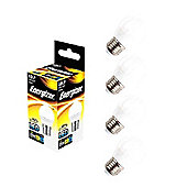 4x Energizer E27 Edison Screw Golf LED Light Bulb Warm White