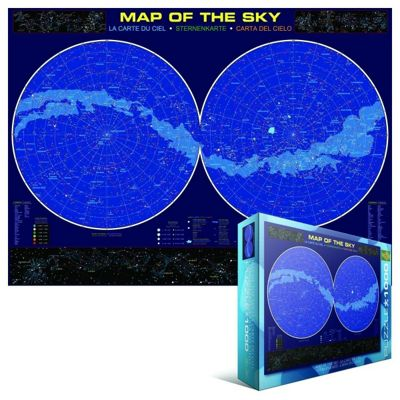 Map Of The Sky Puzzle