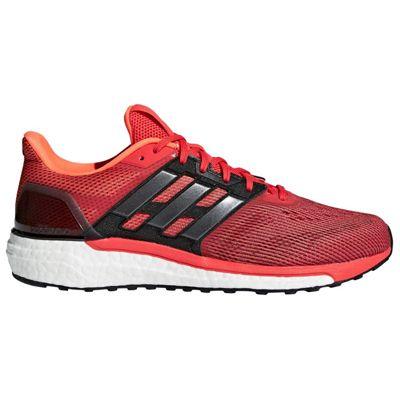 adidas Supernova Mens Running Trainer Shoe Solar Orange/Red - UK 10