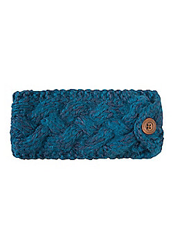Mountain Warehouse Toasty Womens Headband - Aqua