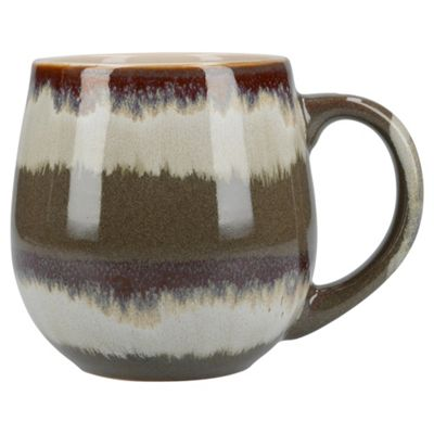 Mikasa Gourmet Basic Reactive Mug Taupe