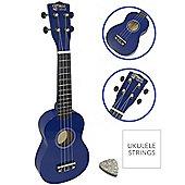 Soprano Ukulele in Blue