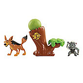 Disney The Lion Guard Two Figure Battle Pack - Bunga & Coyote